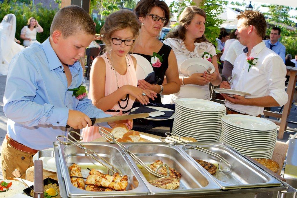 Barbecue buffet De Til Giessenburg - buffet