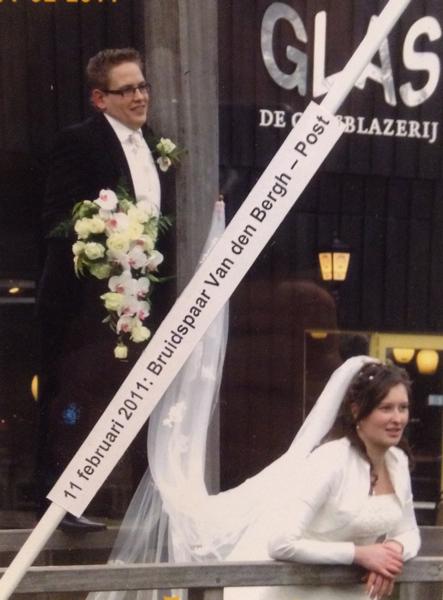 Bruidspaar Van den Bergh - Post