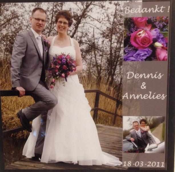Bruidspaar Van Dijk - Vonk
