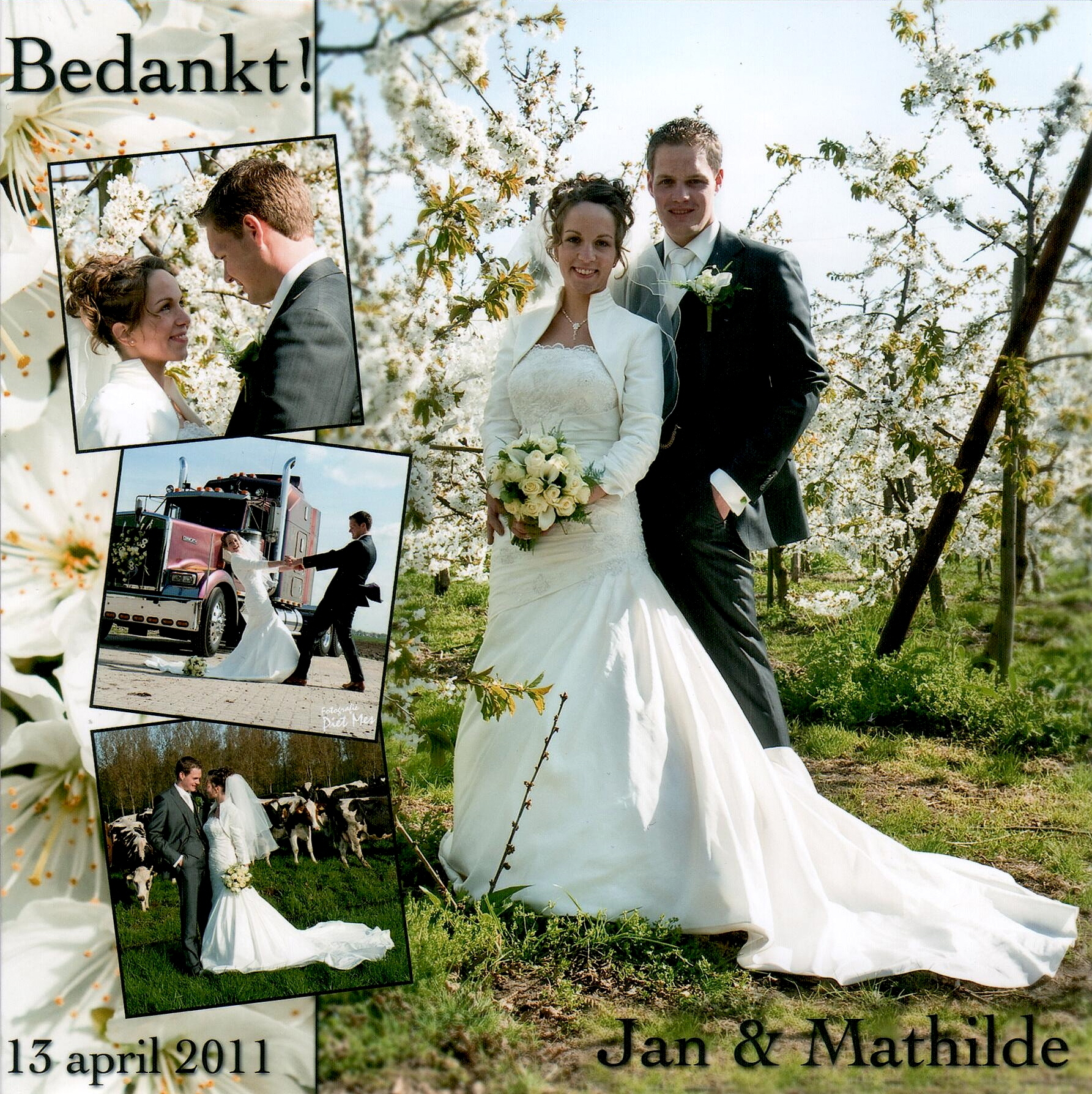 Bruidspaar Van Os - de Groot