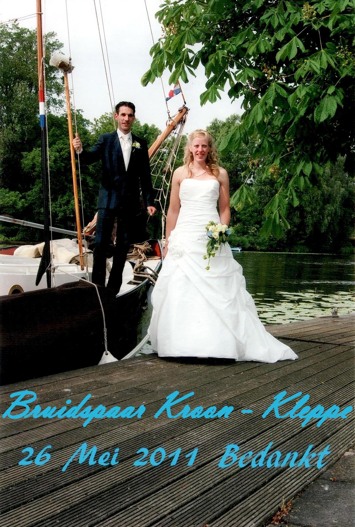 Bruidspaar Kroon - Kleppe