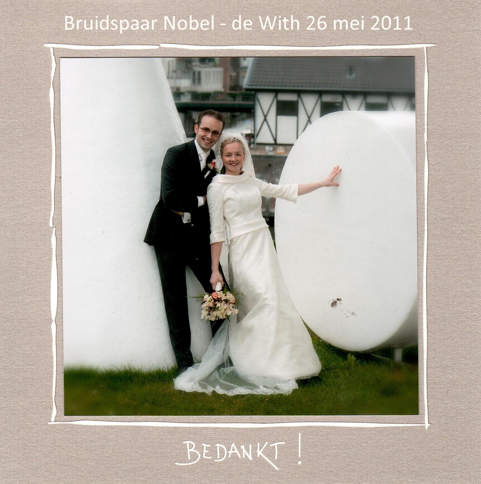 Bruidspaar Nobel - de With