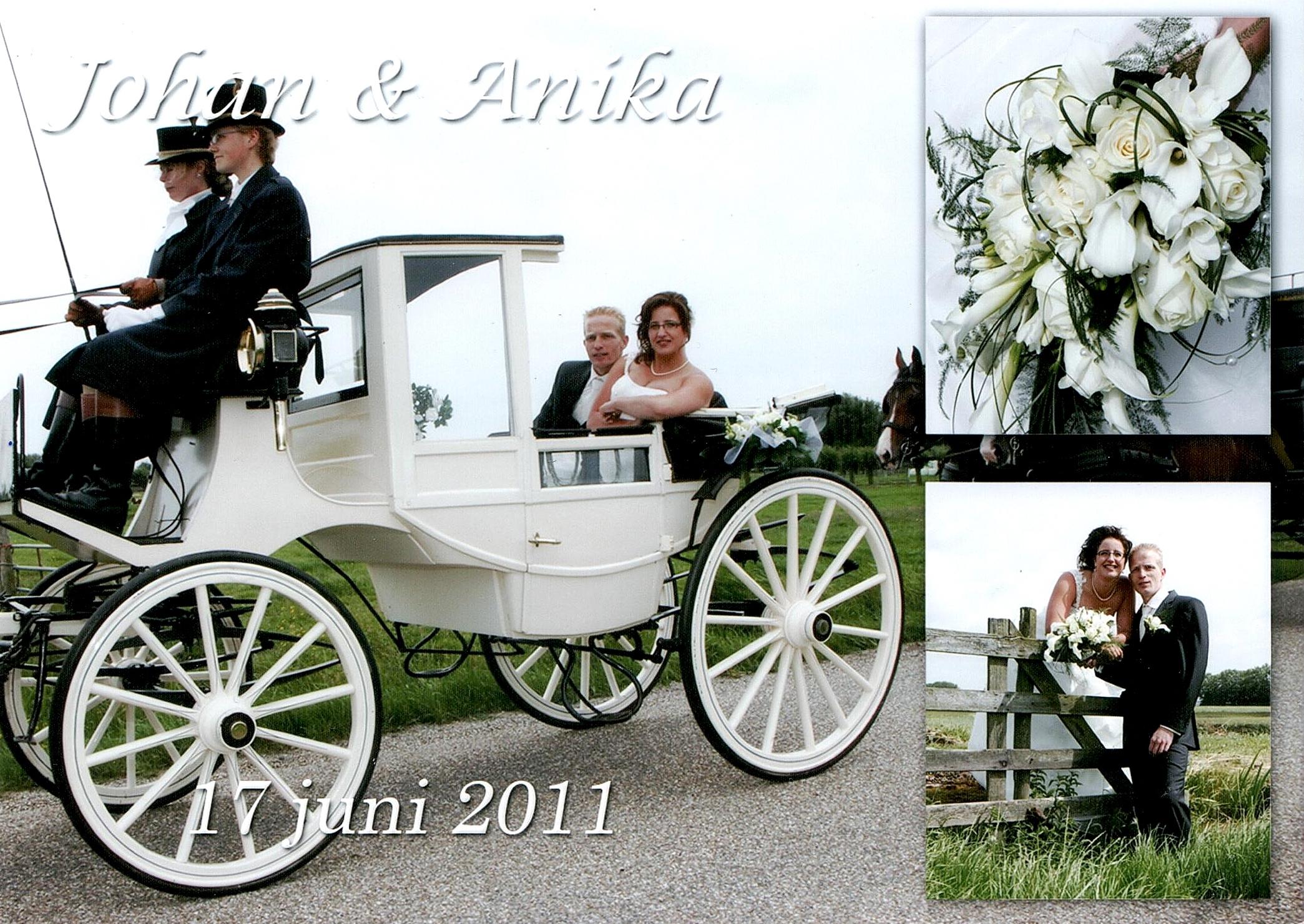 Bruidspaar  Brandwijk - Kuipers