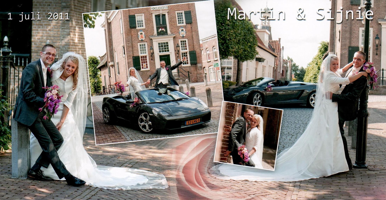 Bruidspaar Luijk - de With