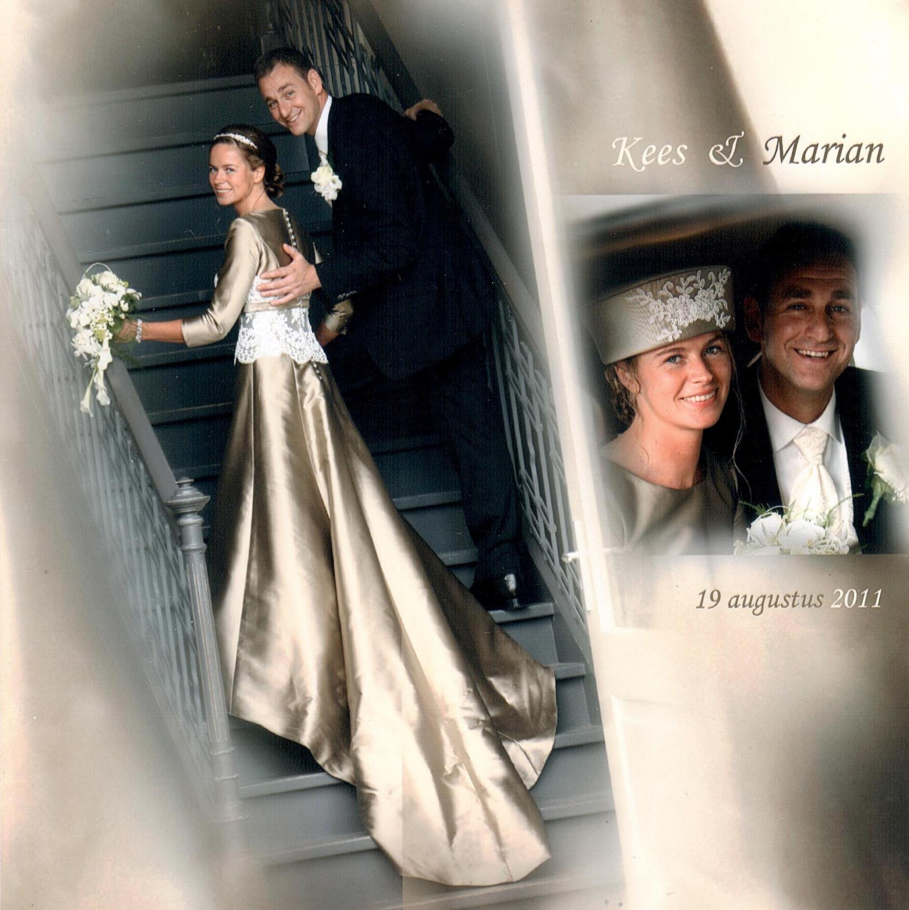 Bruidspaar Erkelens - Baan