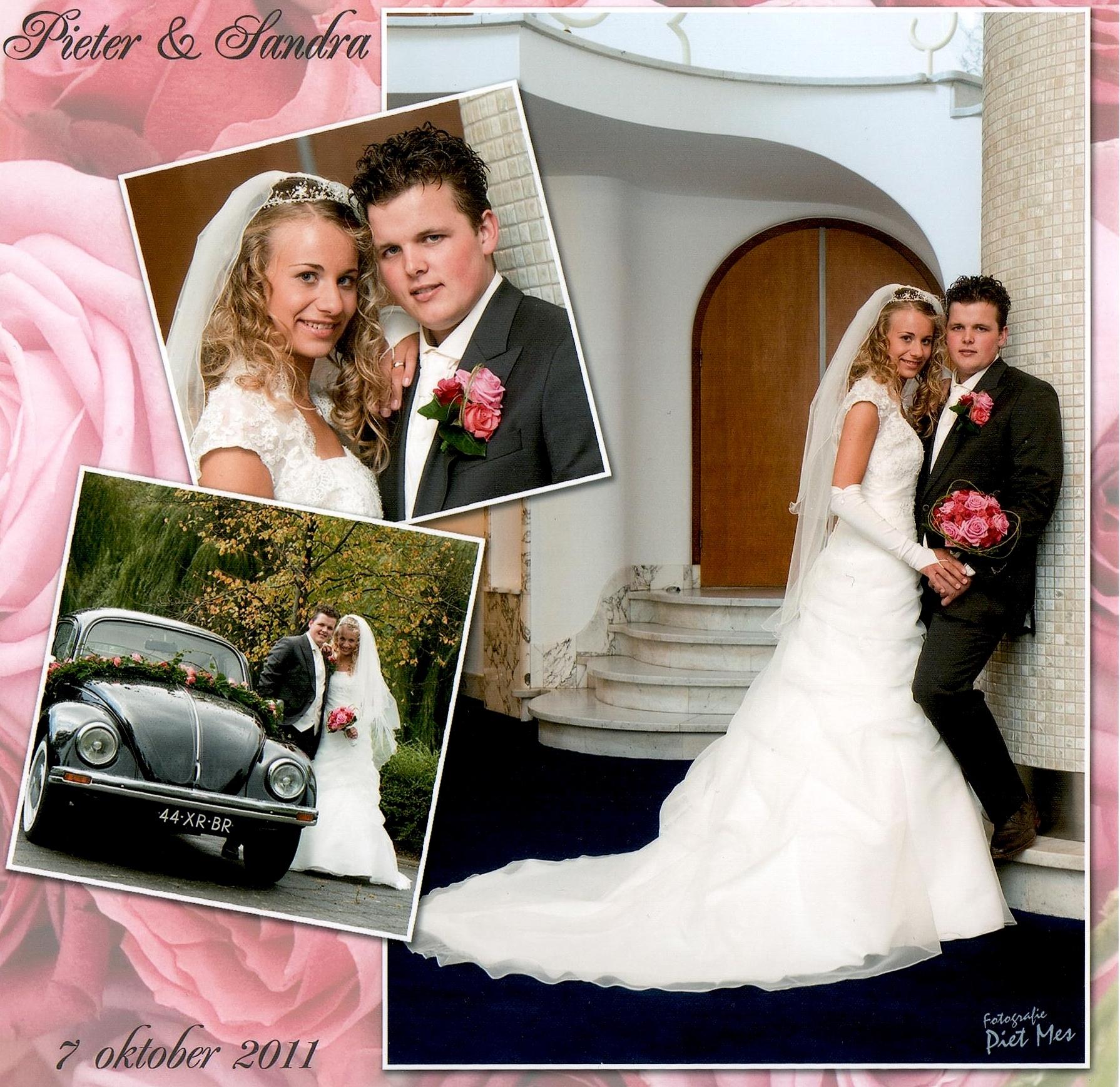 Bruidspaar Meerkerk - Versteeg