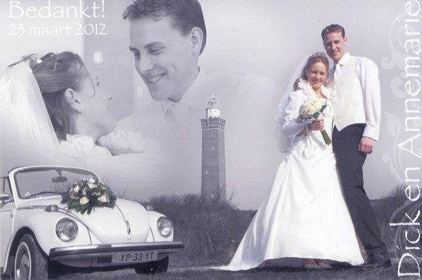 Bruidspaar Brakke - Vroegindeweij 24-03-2012
