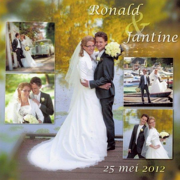 Bruidspaar Ronald Nelisse - Jantine Ippel 25-05-2012