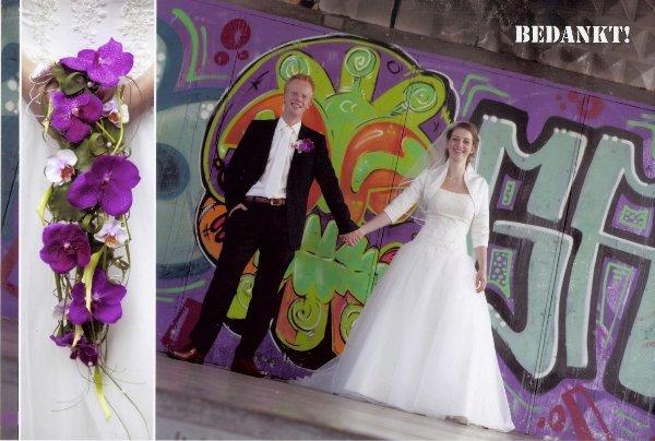 Bruidspaar Heijkamp - Seip 12-07-11