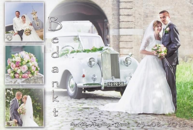 Bruidspaar de Kat Angelino - Pronk
