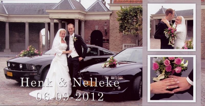Bruidspaar Henk Muilwijk & Nelleke Langeveld