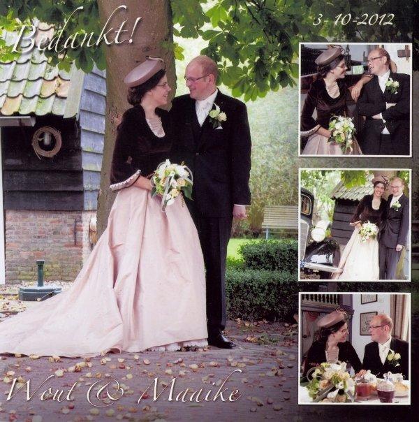 Bruidspaar Wout van Hell & Maaike Huisman (03-10-2012)