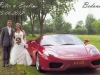 Bruidspaar Peter en Eveline Both - van \'t Hoen 15-06-2012