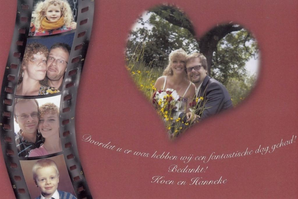 Bruidspaar Koen en Hanneke Westrik (04-06-2013)