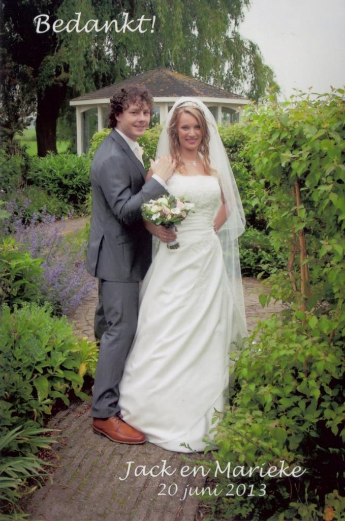 Bruidspaar Jack & Marieke de Groot (20-06-2013)