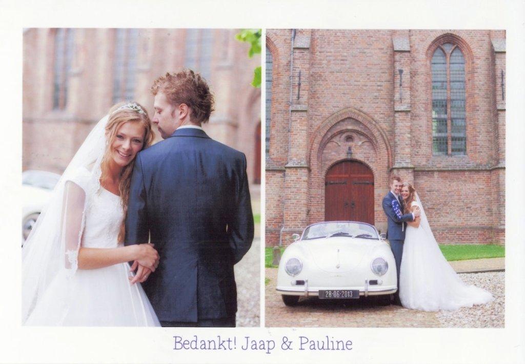 Bruidspaar Jaap en Pauline Euser (28-06-2013)