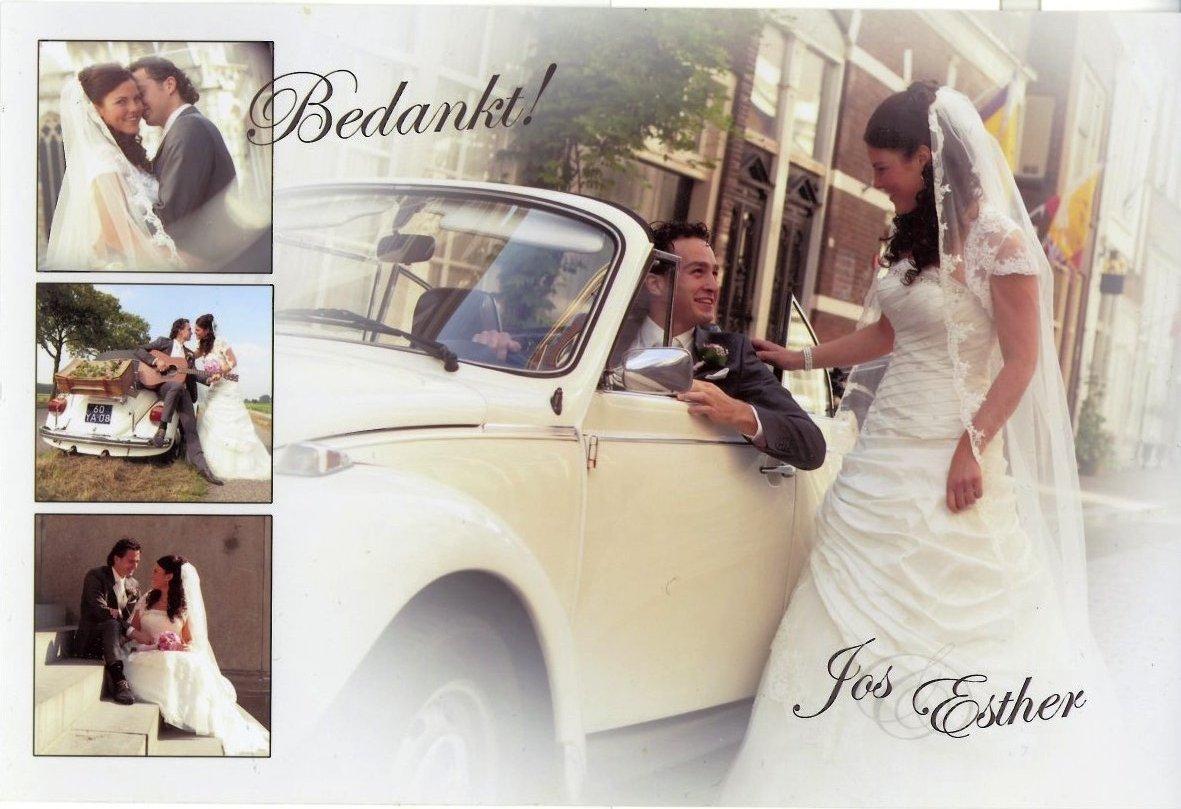 Bruidspaar Jos & Esther van der Kuijl (27-09-2013)