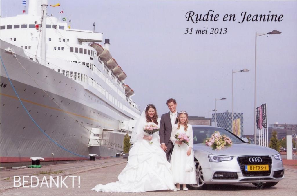 Bruidspaar Rudie van Herk & Jeanine van den Dool (31-05-2013)