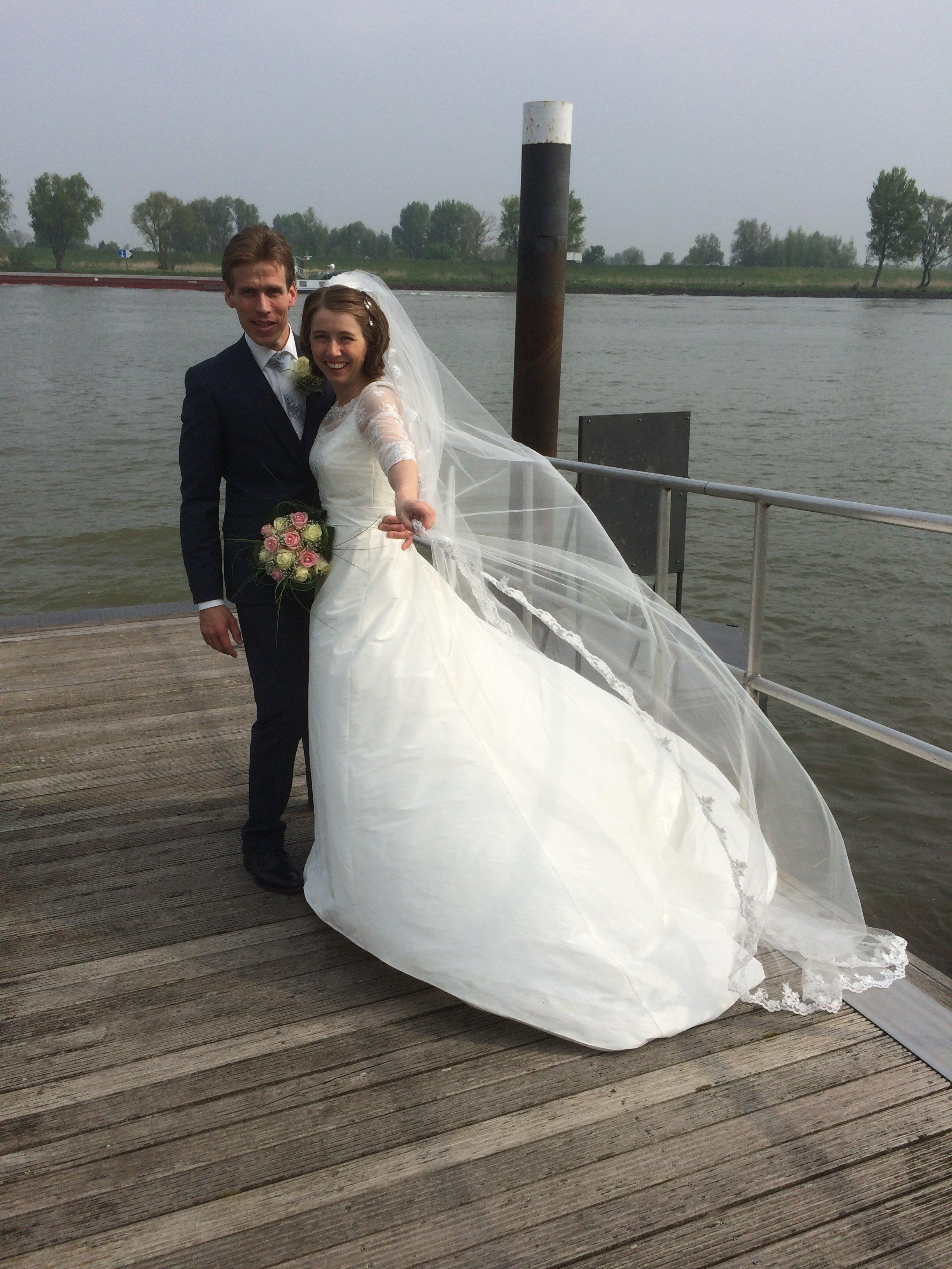 Bruidspaar Lier & de Jager (24-04-2014)