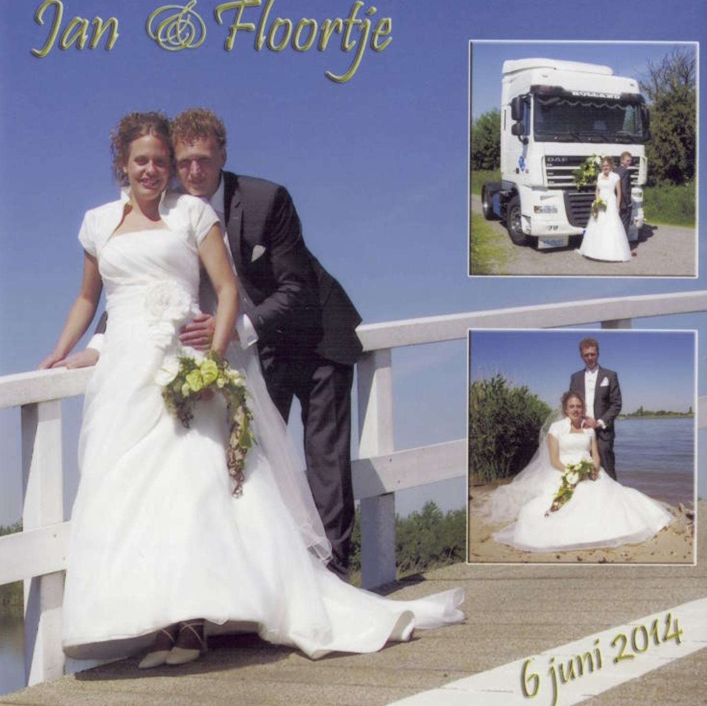 Bruidspaar Jan Crielaard & Floortje Simons (06-06-2014)
