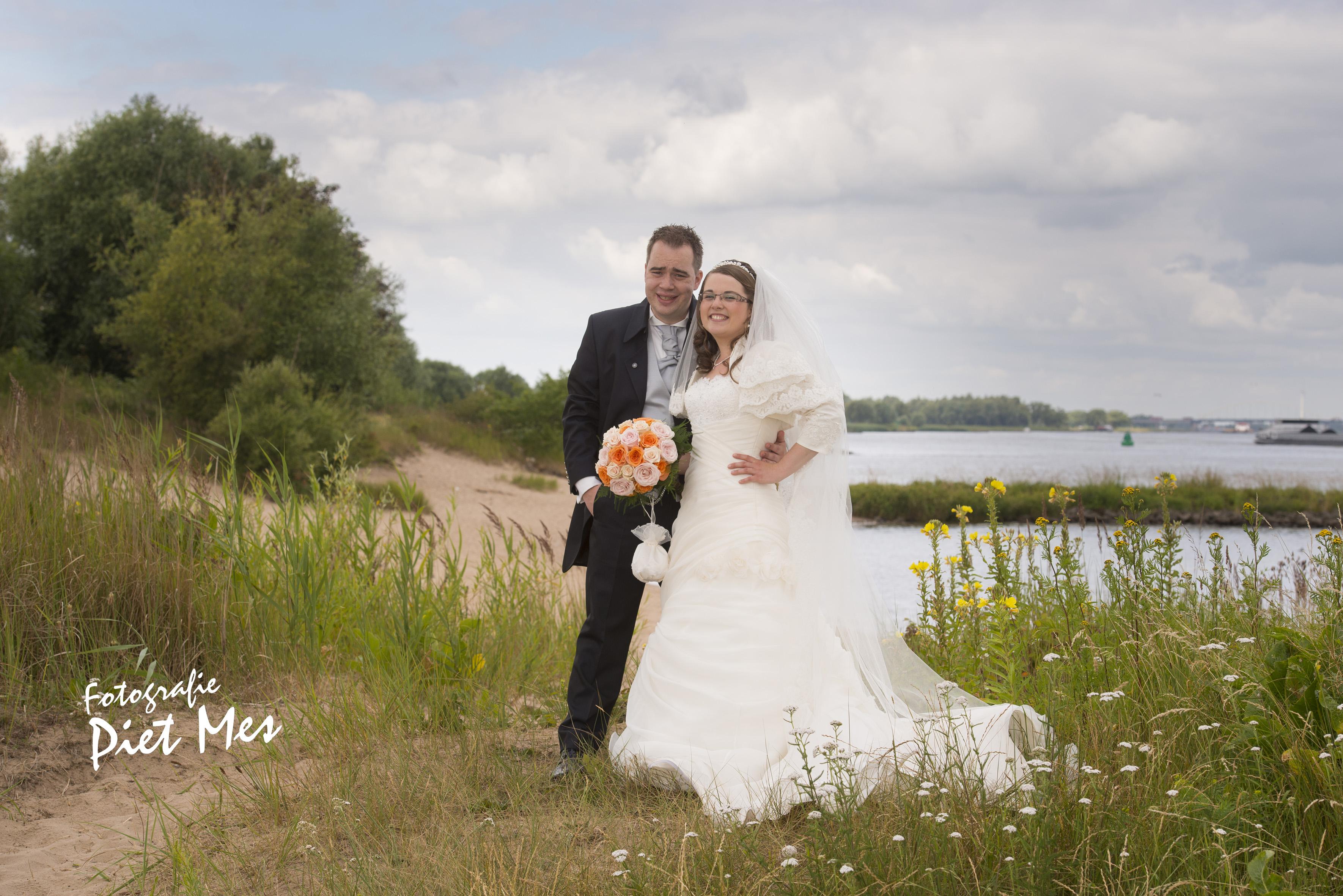 Bruidspaar Dolf & Anja Kornet (02-07-2014)