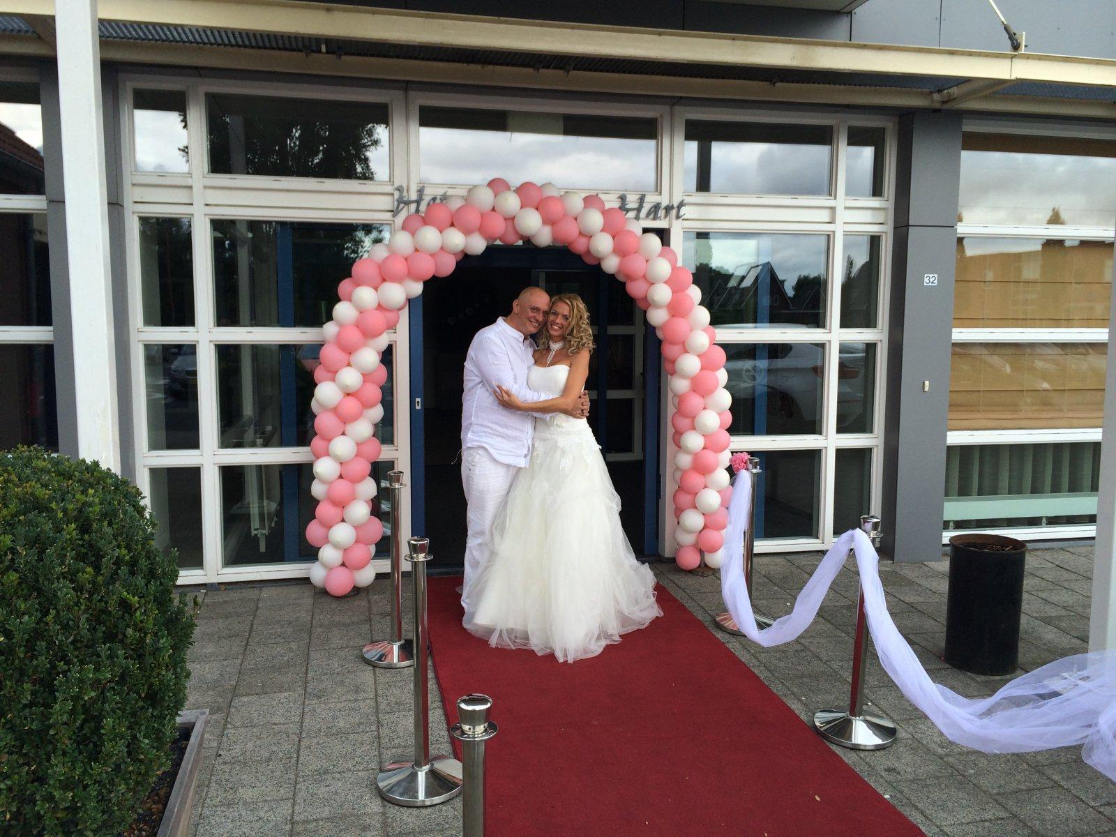 Bruidspaar Marc & Wendy (22-08-2014)
