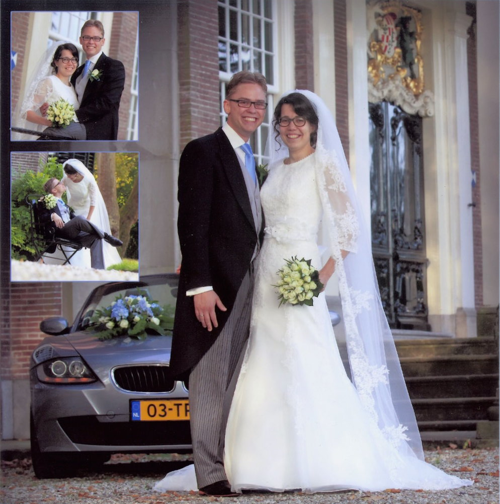 Bruidspaar Gert & Anne-Greet Verweij (28-08-2014)