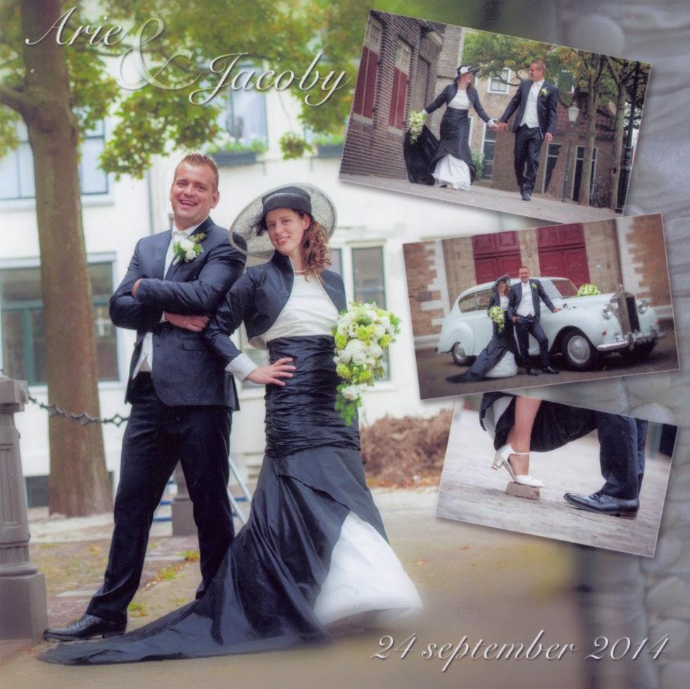 bruidspaar Arie & Jacoby Mourits (24-09-2014)