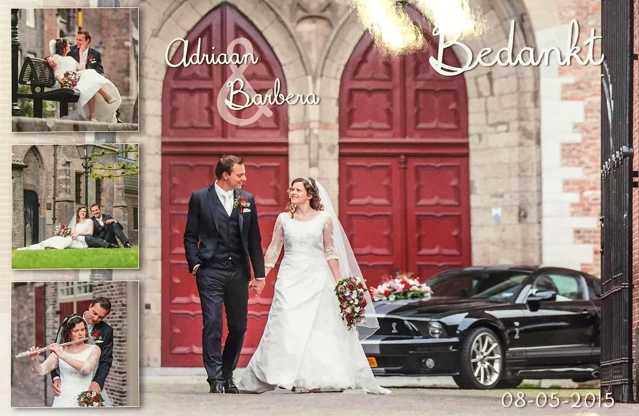 Bruidspaar Adriaan Stolk & Barbera de Groot (08-05-2015).jpg