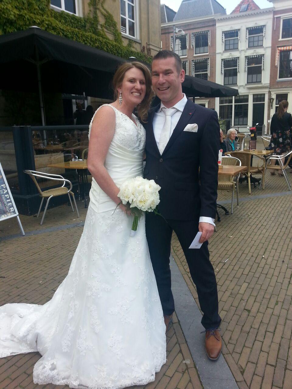 Bruidspaar Jochem Akooij & Liza van der Vegt (15-05-2015).JPG