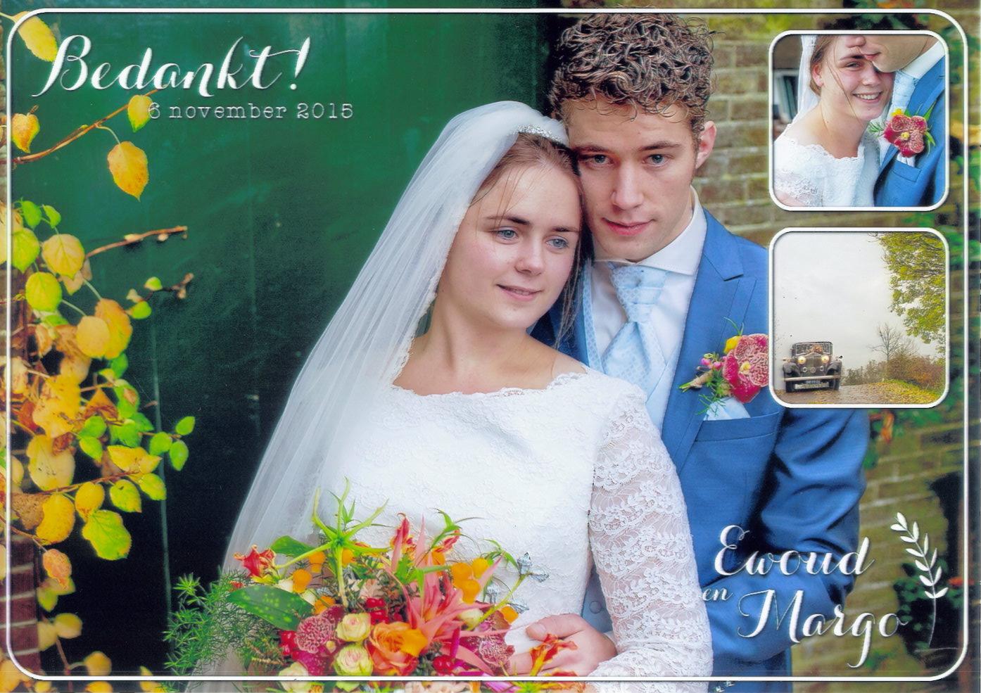 15-11-06 bruidspaar Ewoud Schuitmaker - Margo Kroon