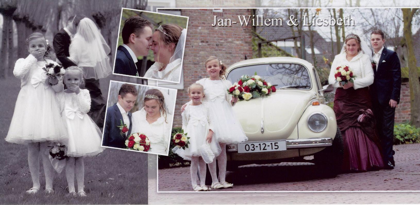 15-12-03 bruidspaar Jan-Willem Rozendaal - Liesbeth Slingerland
