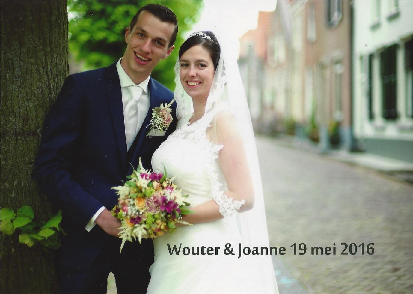 bruidspaar Molenaar - van der Ham (19-05-2016)