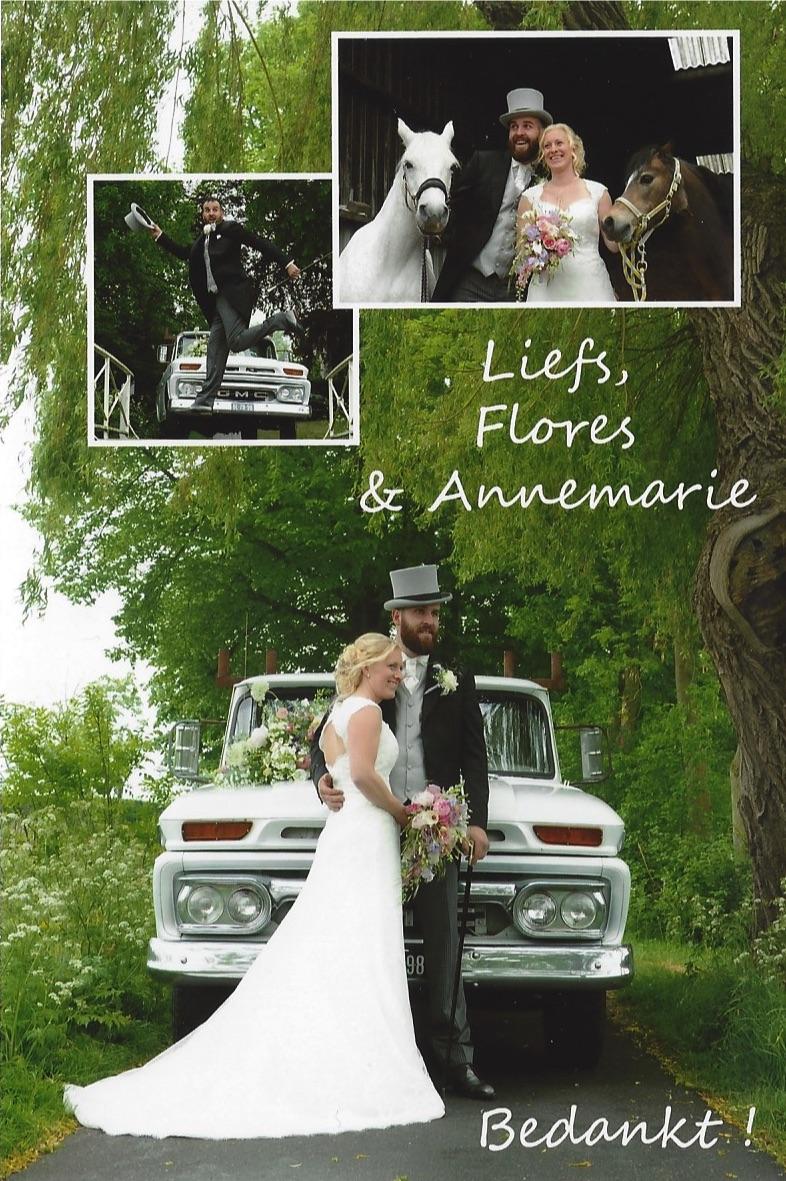 bruidspaar Flores - Annemarie Harrewijn (20-05-2016)
