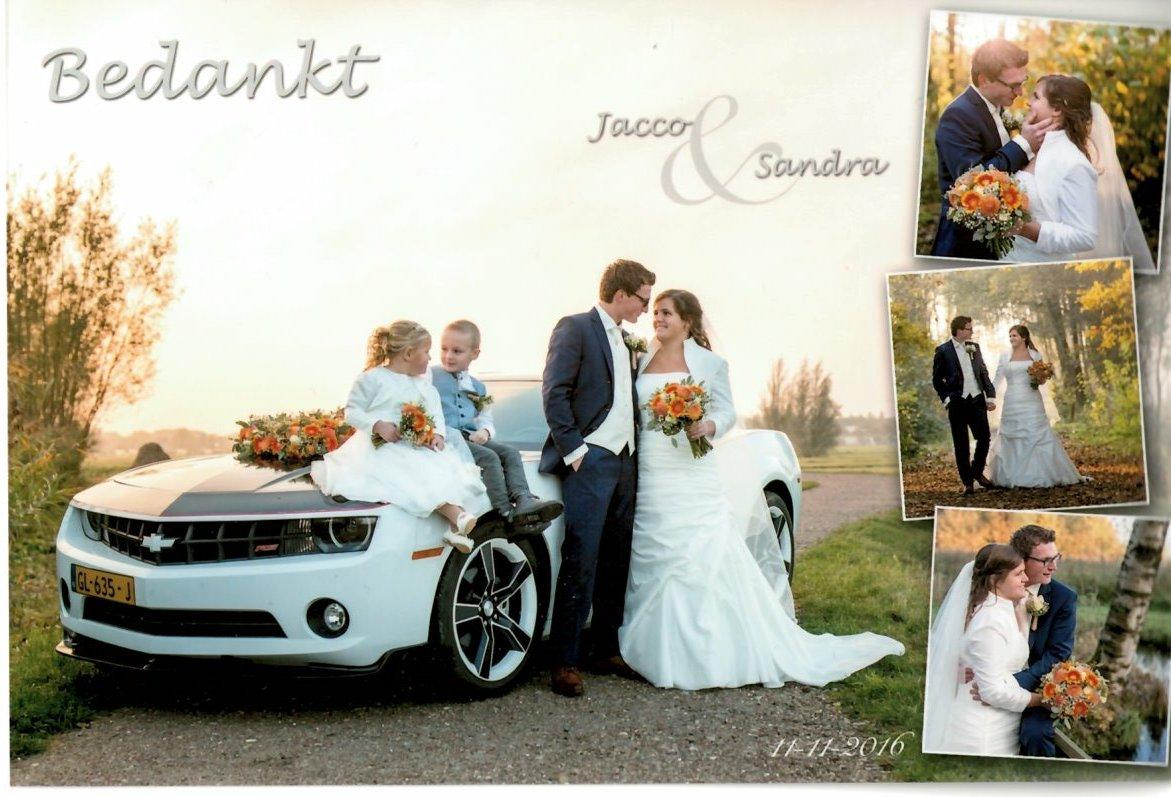16-11-11 Bruidspaar Jacco de Ruiter - Sandra Simons