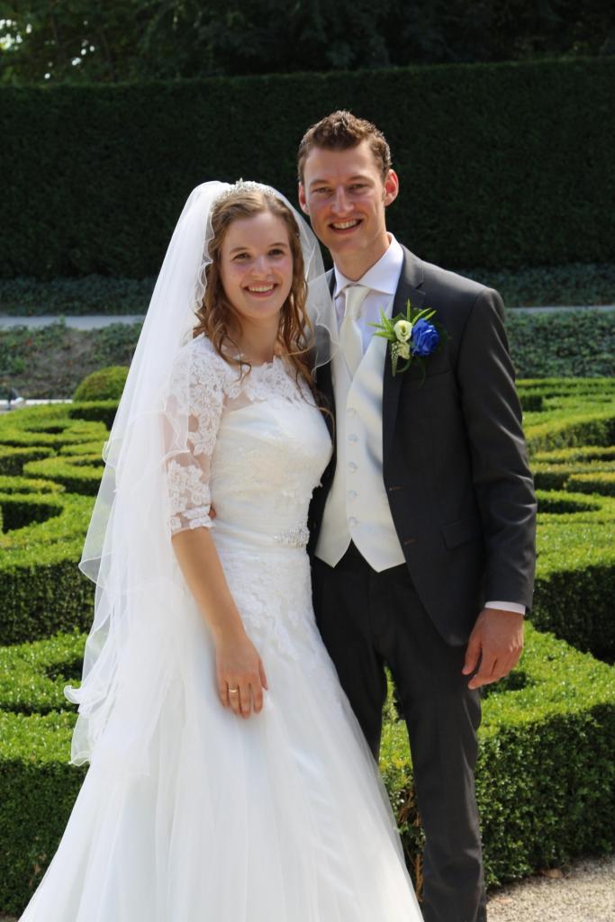 bruidspaar David van Dijk - Lisette de Waard (16-09-09)