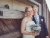 Bruidspaar Jonathan Slob en Manuela Meijer 26-08-2016