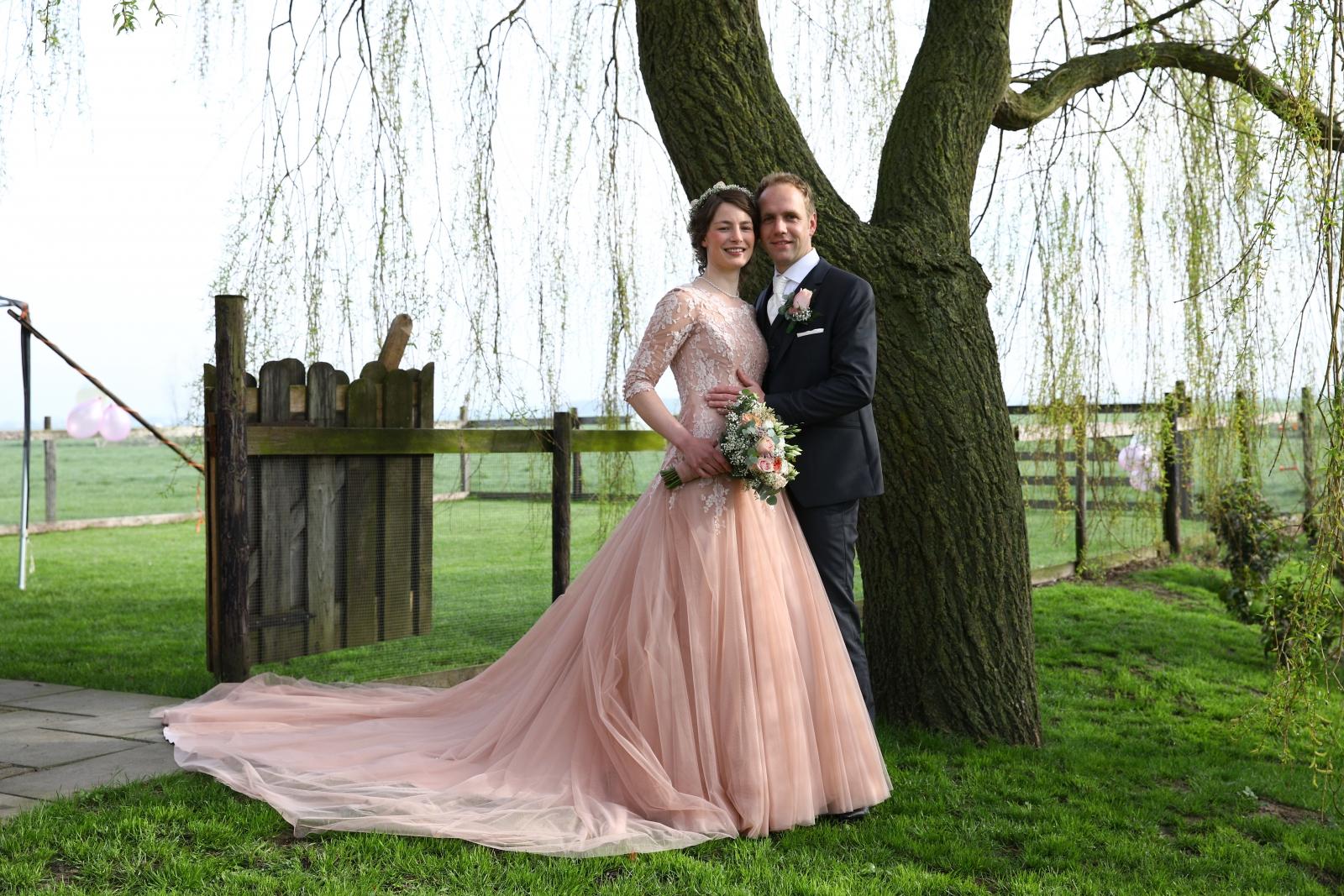 bruidspaar Corne en Marijke Verweij (13-04-2018)