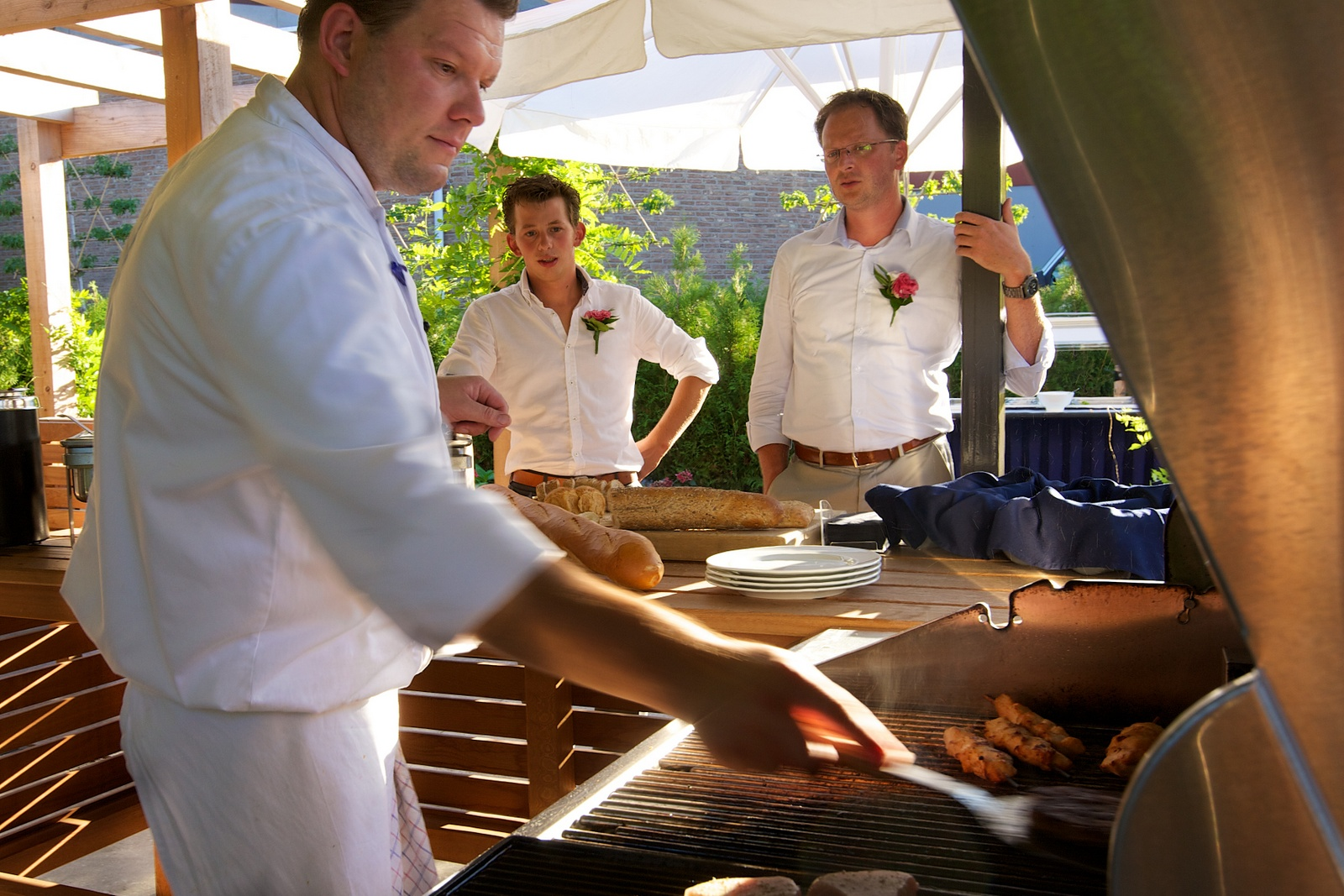 barbecue buitenterras