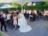 bruidspaar buitenterras