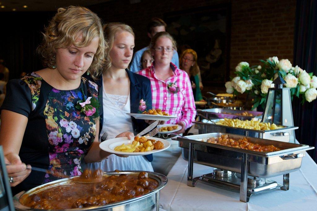 De keuzevrijheid van een buffet