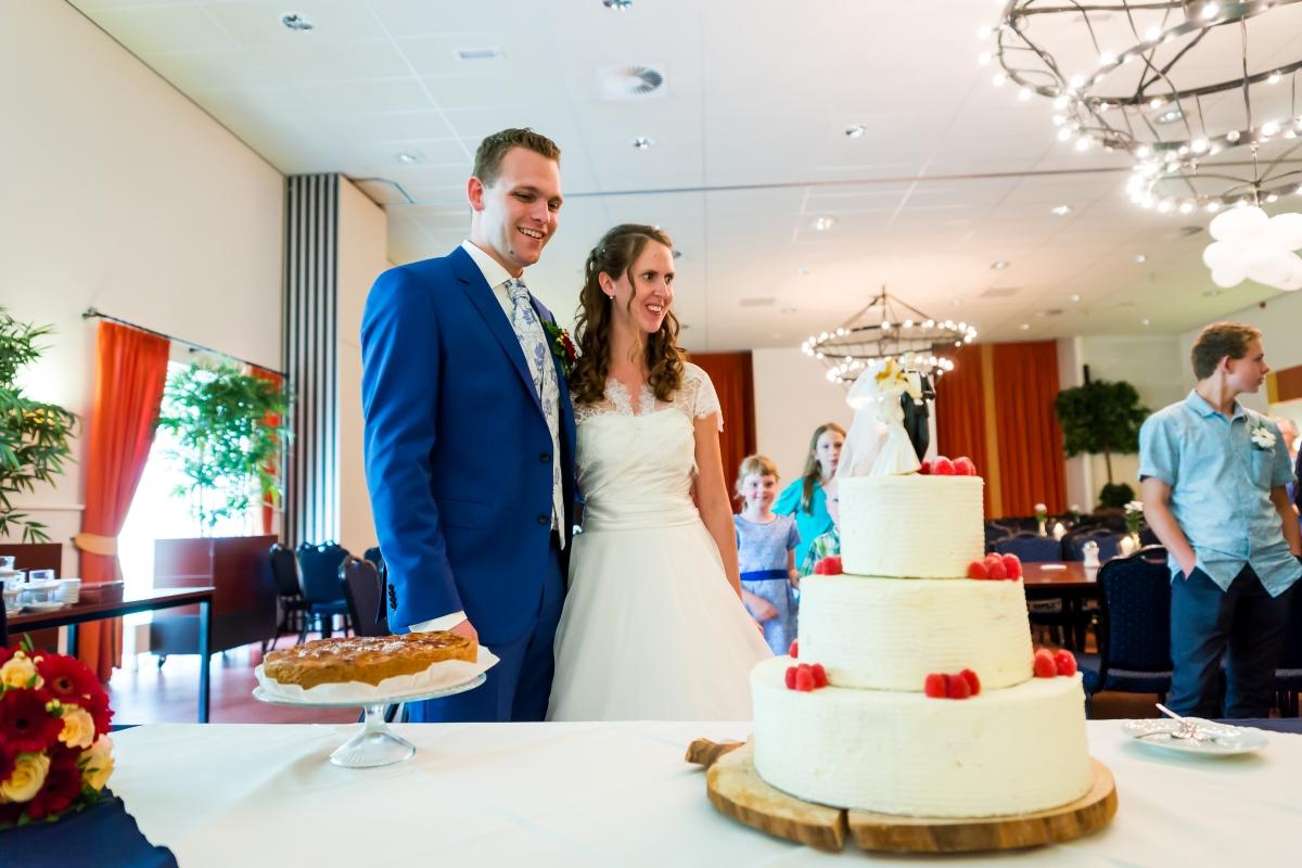 Bruidspaar in Het Bruisend Hart