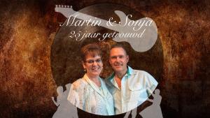 """Martin en Sonja 25 jaar getrouwd 300x169 """"Als het aan mij ligt vieren we over 25 jaar weer feest bij De Til"""