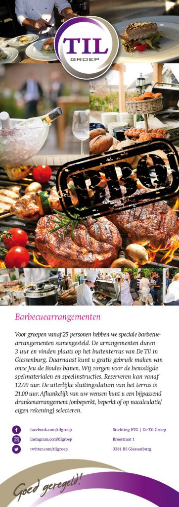 TIL 2017 BBQ flyer DEF 362x1024 Nieuwe folder barbecue arrangementen De Til