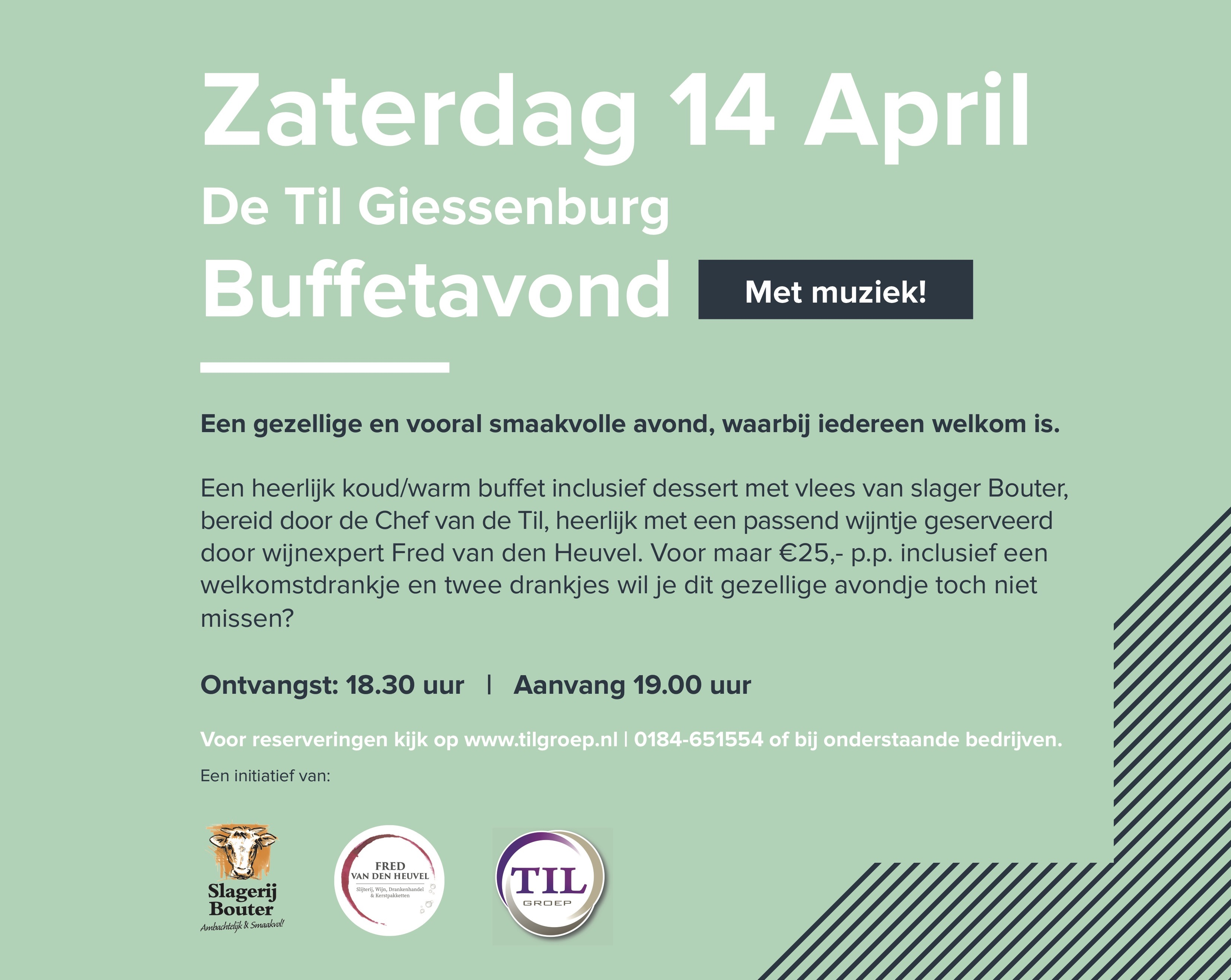 %name Meld je aan voor Gastvrij Giessenburg op zaterdag 14 april