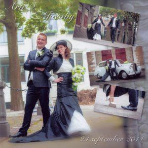 """14 09 24 bruidspaar Arie Jacoby Mourits 300x300 """"Wij krijgen nog steeds complimentjes over onze bruiloft bij De Til"""